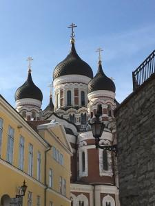 Alexander Nevskij-katedralen på Domberget i Tallinn